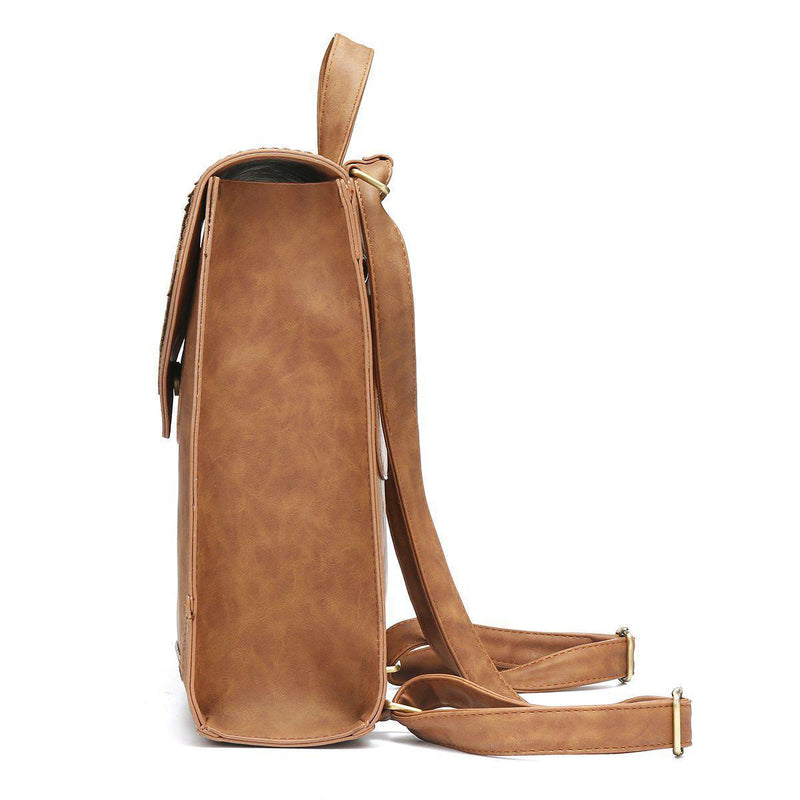 Soft PU Multi-Functional Rucksack-Luckyfine