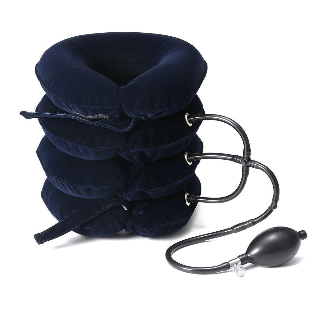 Inflatable Neck Support for Headache, Neck Pain Relief-Luckyfine