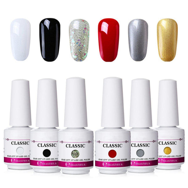 8Pcs Gel Nail Polish Set