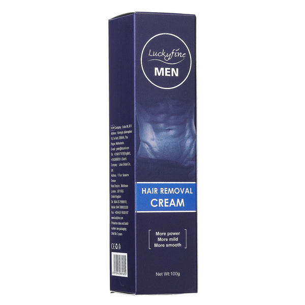 Hair Removal Cream For Men, Extra Gentle Hair Removal Cream for Men Underarm, Chest, Back, Legs and Arms