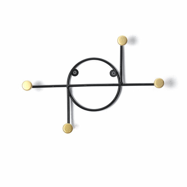 Nordic Style Wall Mounted Coat Rack Creative Decor Key Hook-Luckyfine