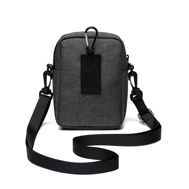 Multi-function Casual Passport Bag Card Holder Phone Bag Waist Bag Belt Purse for Men Women