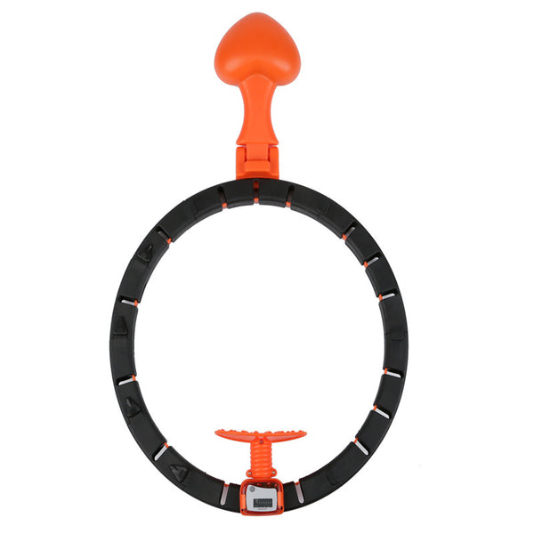 "Fitness Intelligent Slimming Hoop w/ LCD Smart Counter, Never Dripping Slimming Hoop (Waistline 23"" to 40"")"