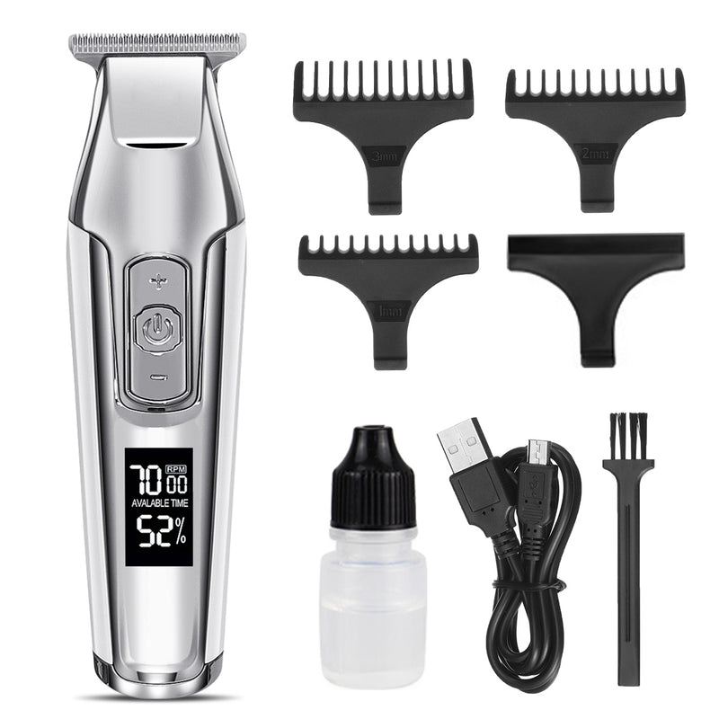 Luckyfine Hair Clippers for Men, Electric Barbers Hair Cutting, Professional Cordless Clippers Kit, 3 Length Settings