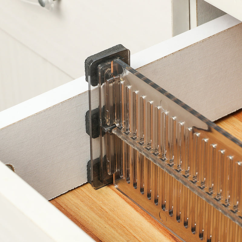 Adjustable Expandable Drawer Partition Organizers Dividers for Kitchen/Office fits 10.9-19.89''