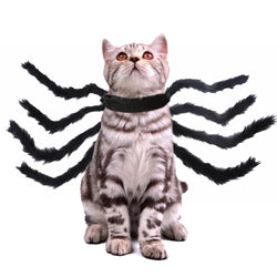 Pet Halloween/Christmas Chest Back Creative Spider Transformation Costume