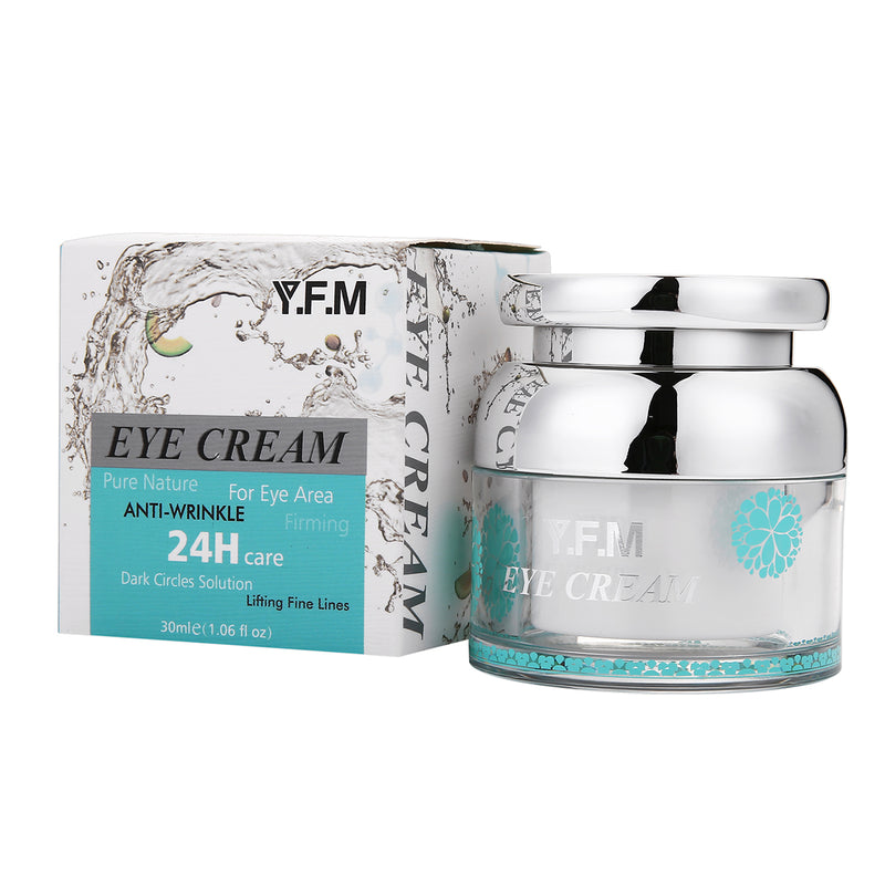 Y.F.M Age Defence Eye Cream 30mL, Eye Gel Anti Wrinkle, Anti Crow's Feet, Smooth the Skin Around the Eyes