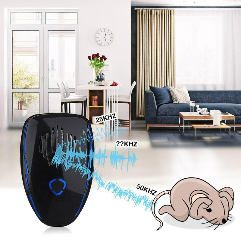 Frequency Conversion Mode Ultrasonic Pest Repeller-Luckyfine