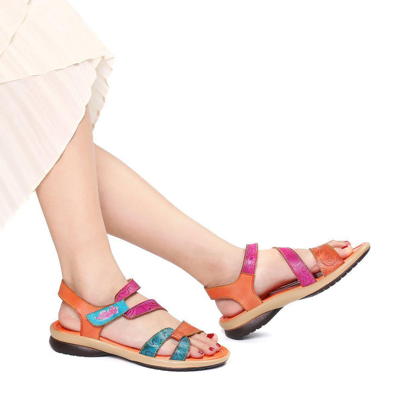 Ladies Flat Heel Sandals