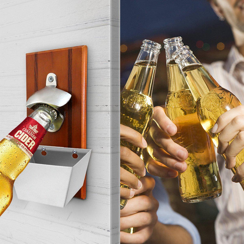 Bottle Opener with Big Cap Box-Luckyfine