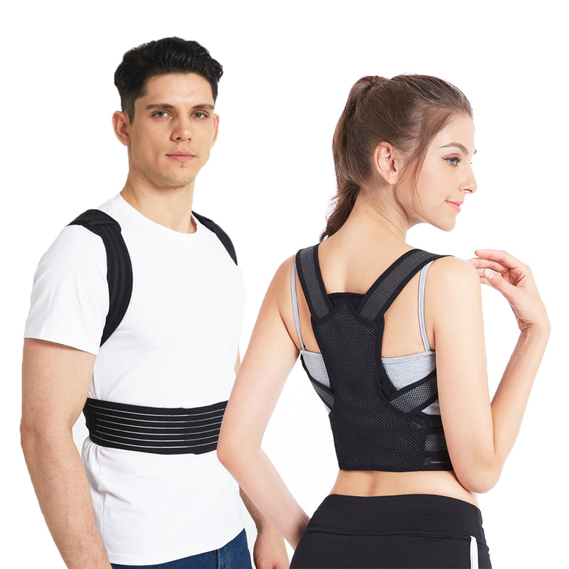 Slimerence Posture Corrector Back Brace For Men/Women, for Neck Shoulder Support/Pain Relief