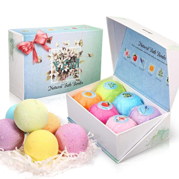 Bath Bombs Gift Set-Luckyfine