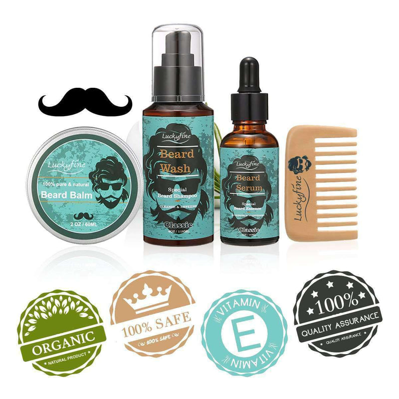 Beard Care Set-Luckyfine