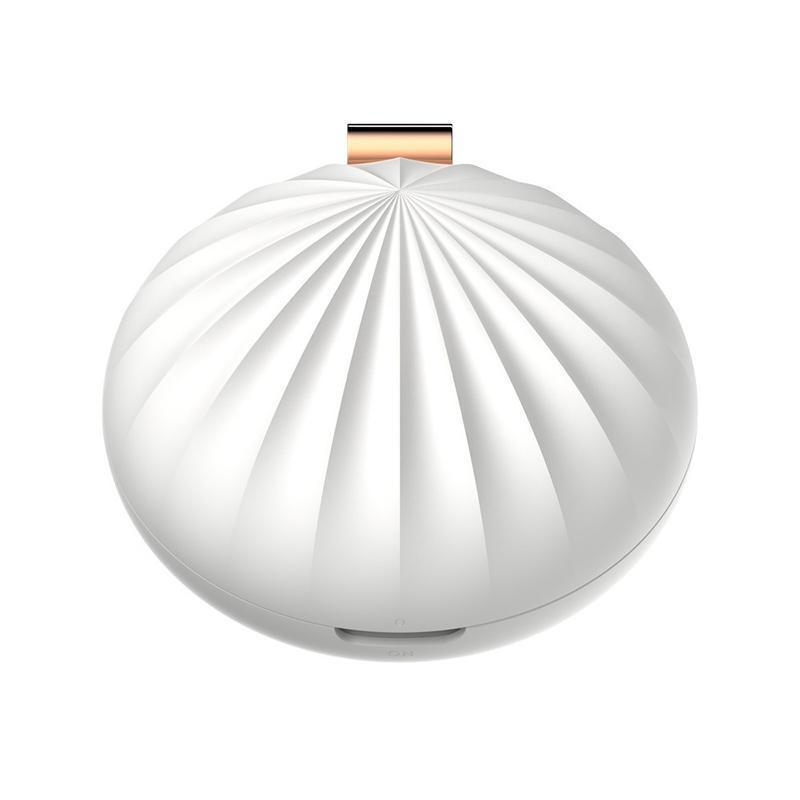 USB Portable Shell Essential Oils Diffuser Mini Aroma Humidifier Cute Shell Shaped 1L-Luckyfine