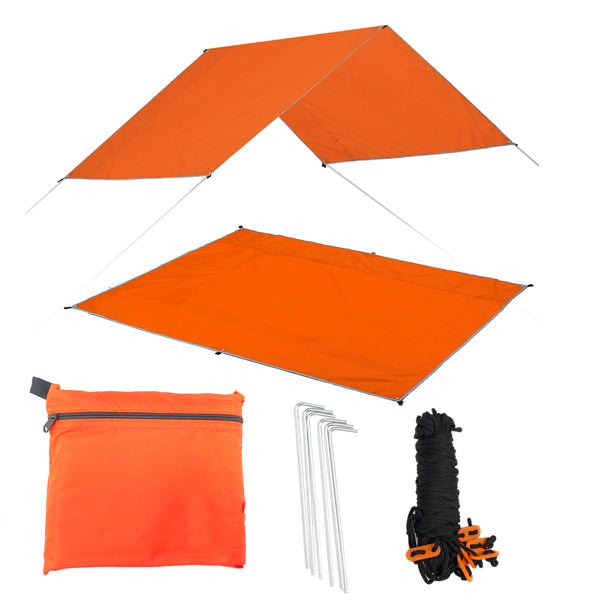 3 In 1 Multifunctional Waterproof Picnic Blanket Sunshade Tent Pad