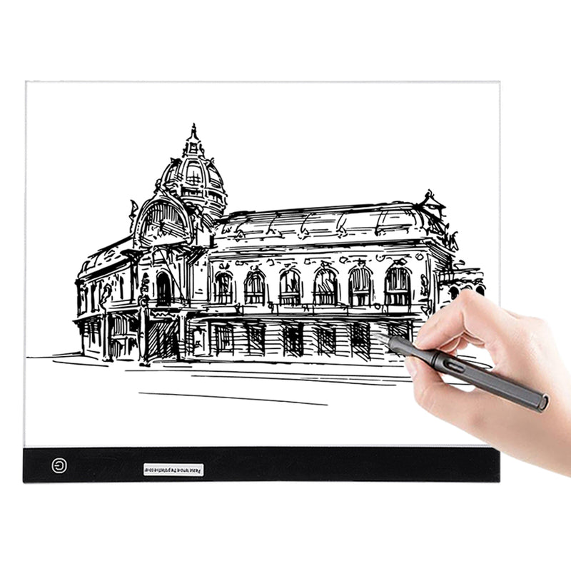 A3 Light Box LED Drawing Pad, Ultra-Thin Portable USB Cable Dimmable Brightness Painting Board