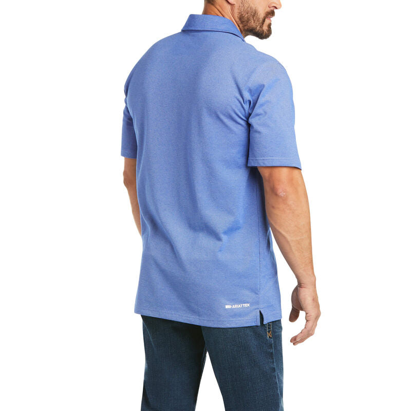 Ariat Pique Tek Short Sleeve Polo