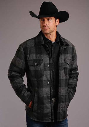 Stetson Buffalo Plaid Jacket