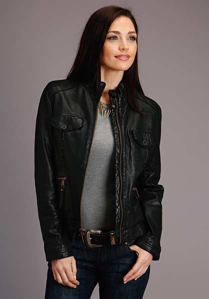 Stetson Smooth Leather Jacket
