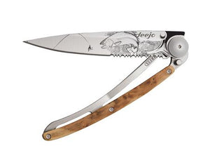 Serrated 37 G Trout Pocket Knife