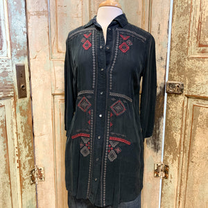 Ryan Michael Cupra Rayon Tunic