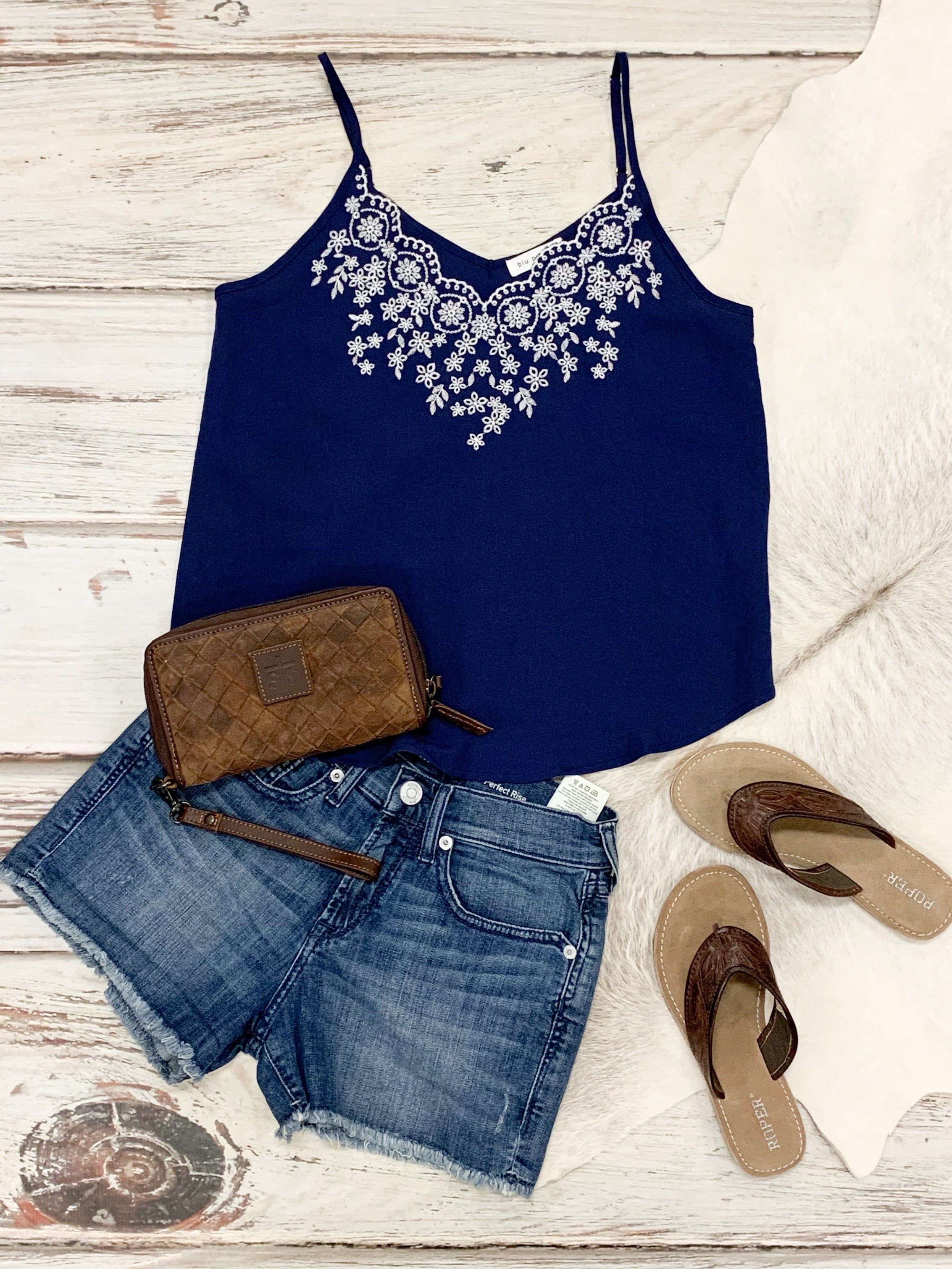 Ophelia Embroidered Tank