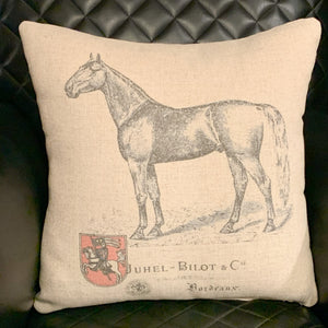 Standing Proud Horse Pillow