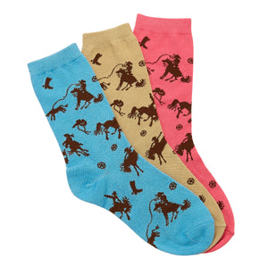 Rodeo Time Crew Socks