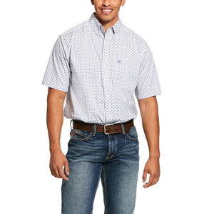 Ariat Men's Lucas Print Stretch Classic Fit Shirt