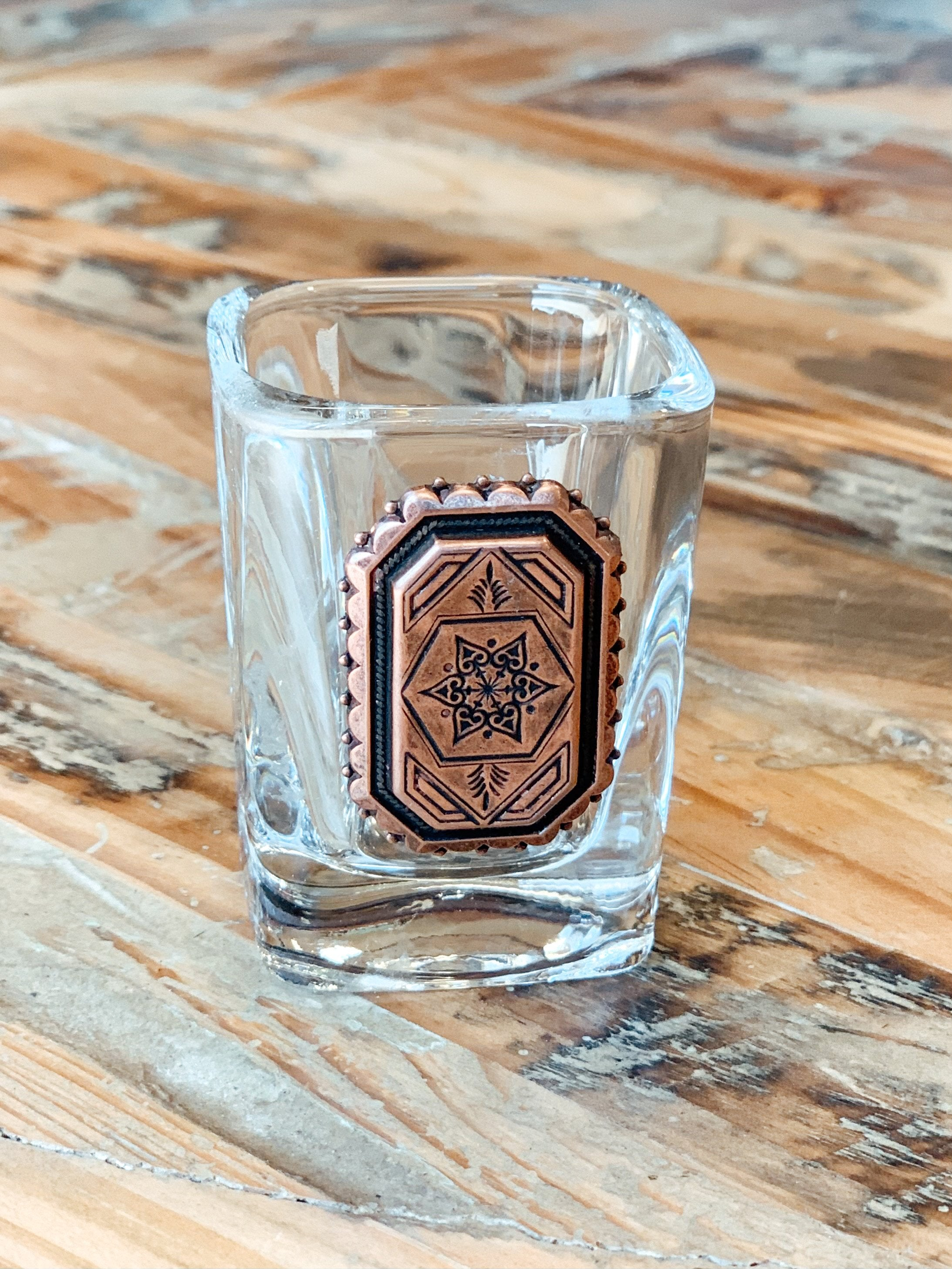 Copper Star Shot Glass