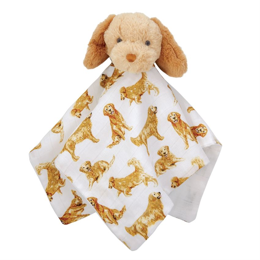 Golden Retriever Dog Plush Woobie