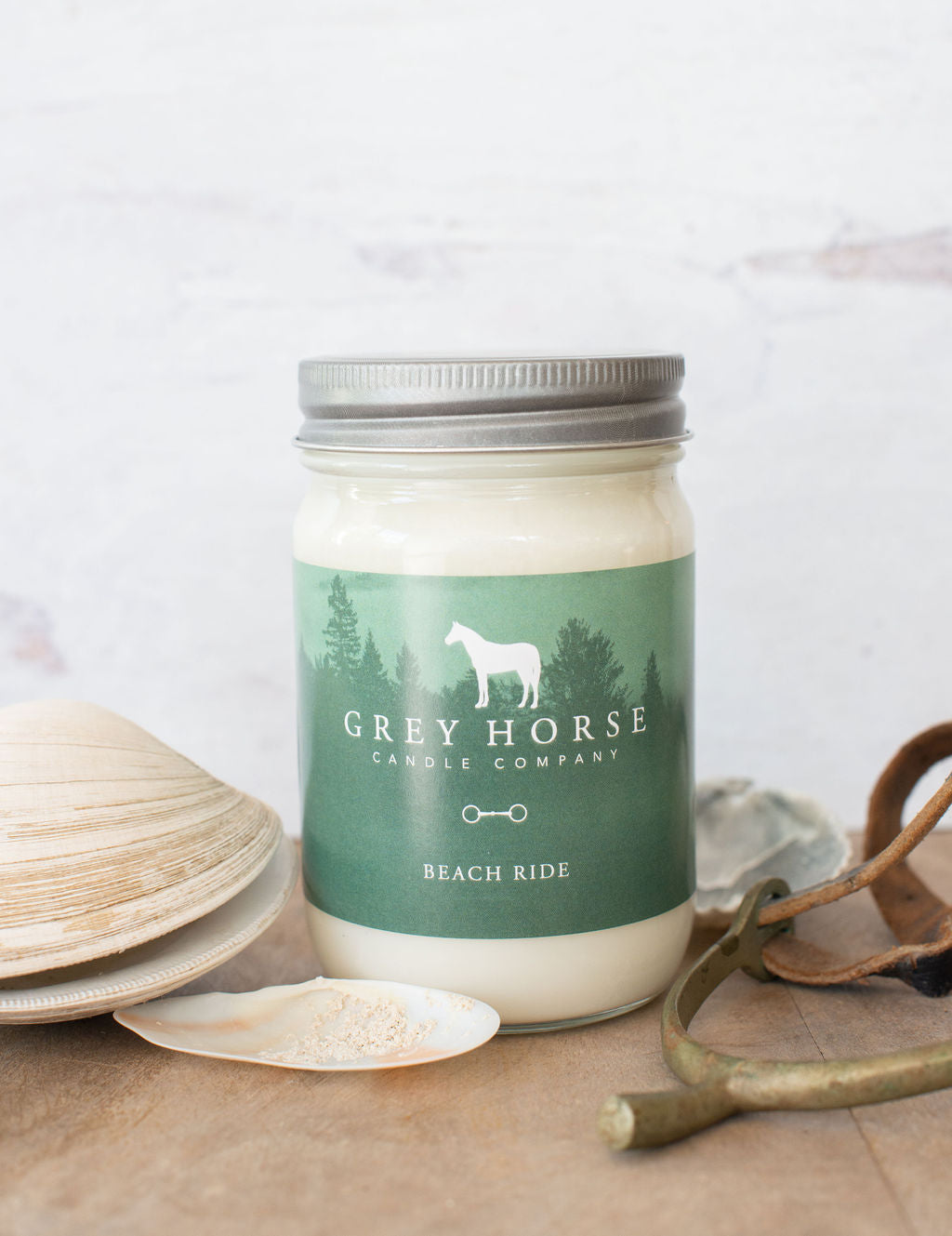 Grey Horse Candle Company Soy Candle- Beach Ride