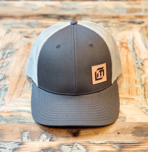 Five Panel Trucker Cap With Leather MEC Patch