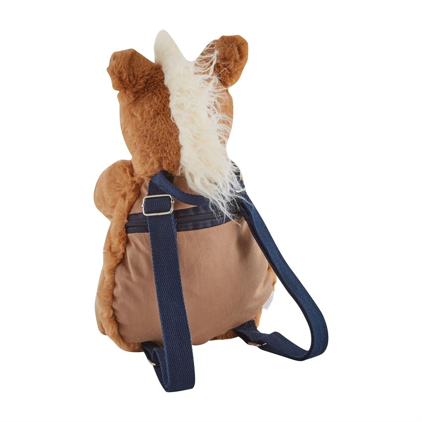 Horse Plush Backpack