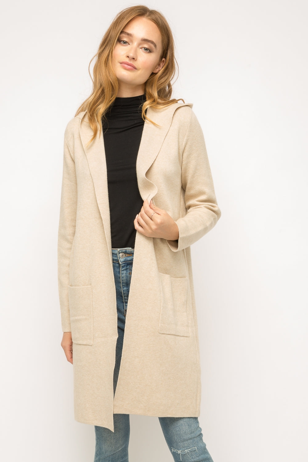 Claire Hooded Cardigan