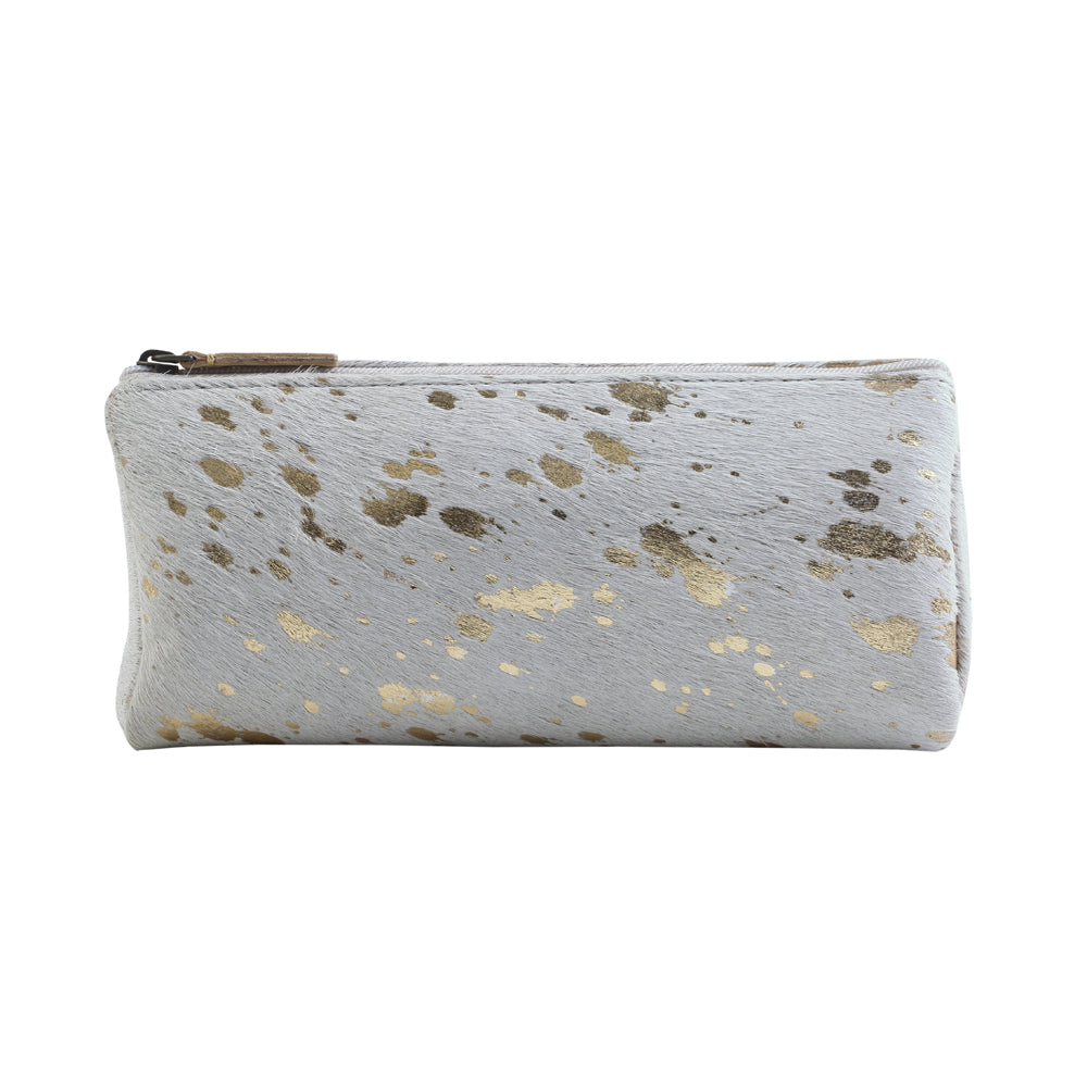 Stardust Leather Hairon Pouch