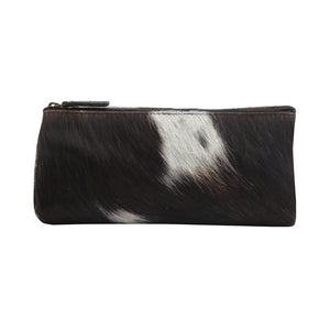 Silky Slayer Leather Hairon Pouch