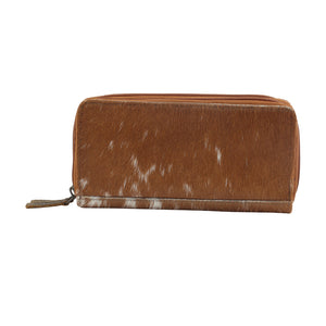 Sand Dune Leather Hairon Wallet