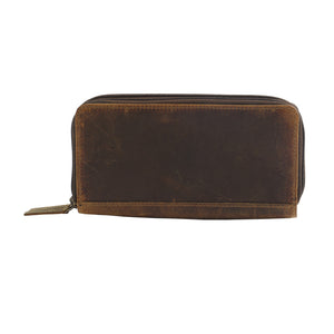 Timber Time Leather Wallet