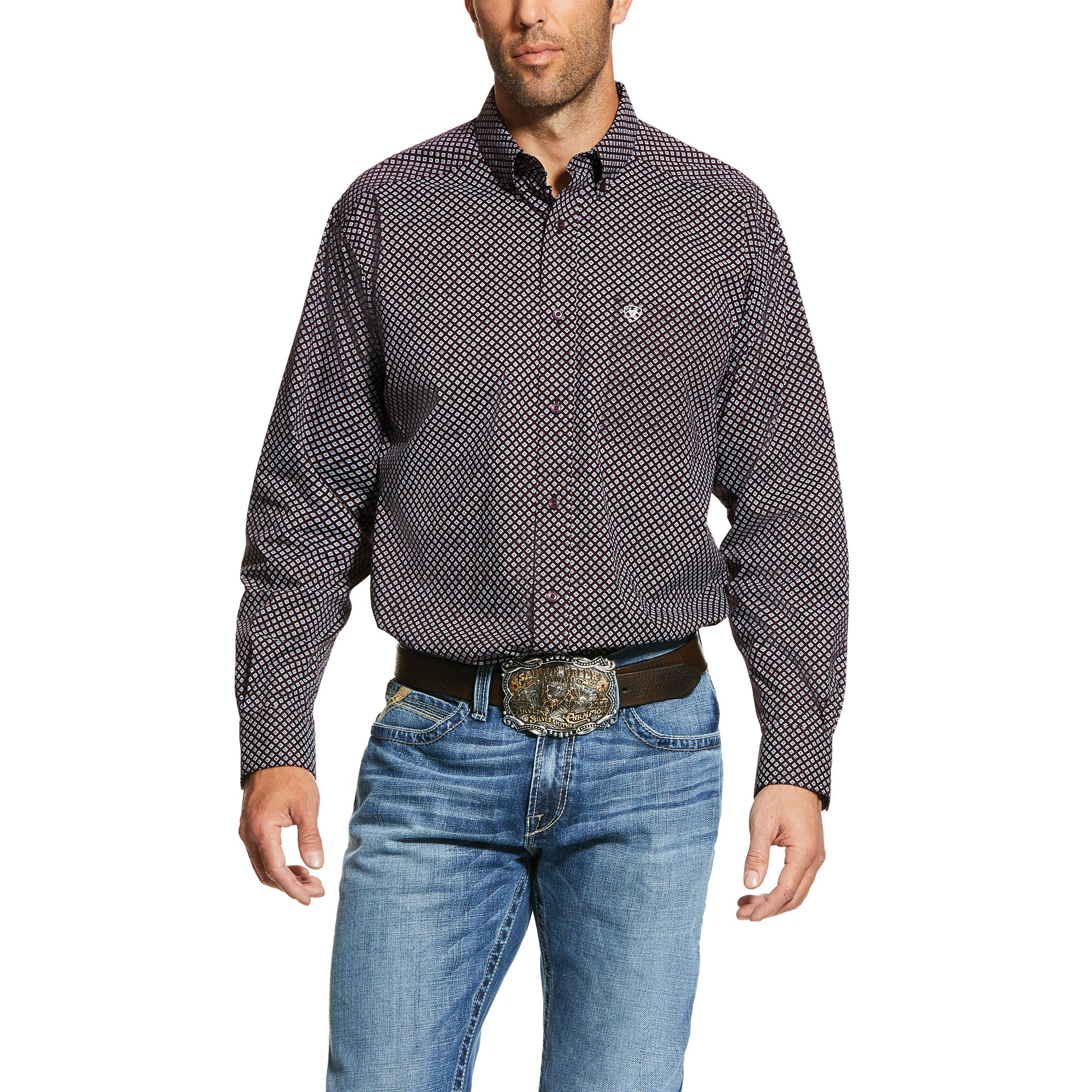 Ariat Largo Print Stretch Classic Fit Shirt