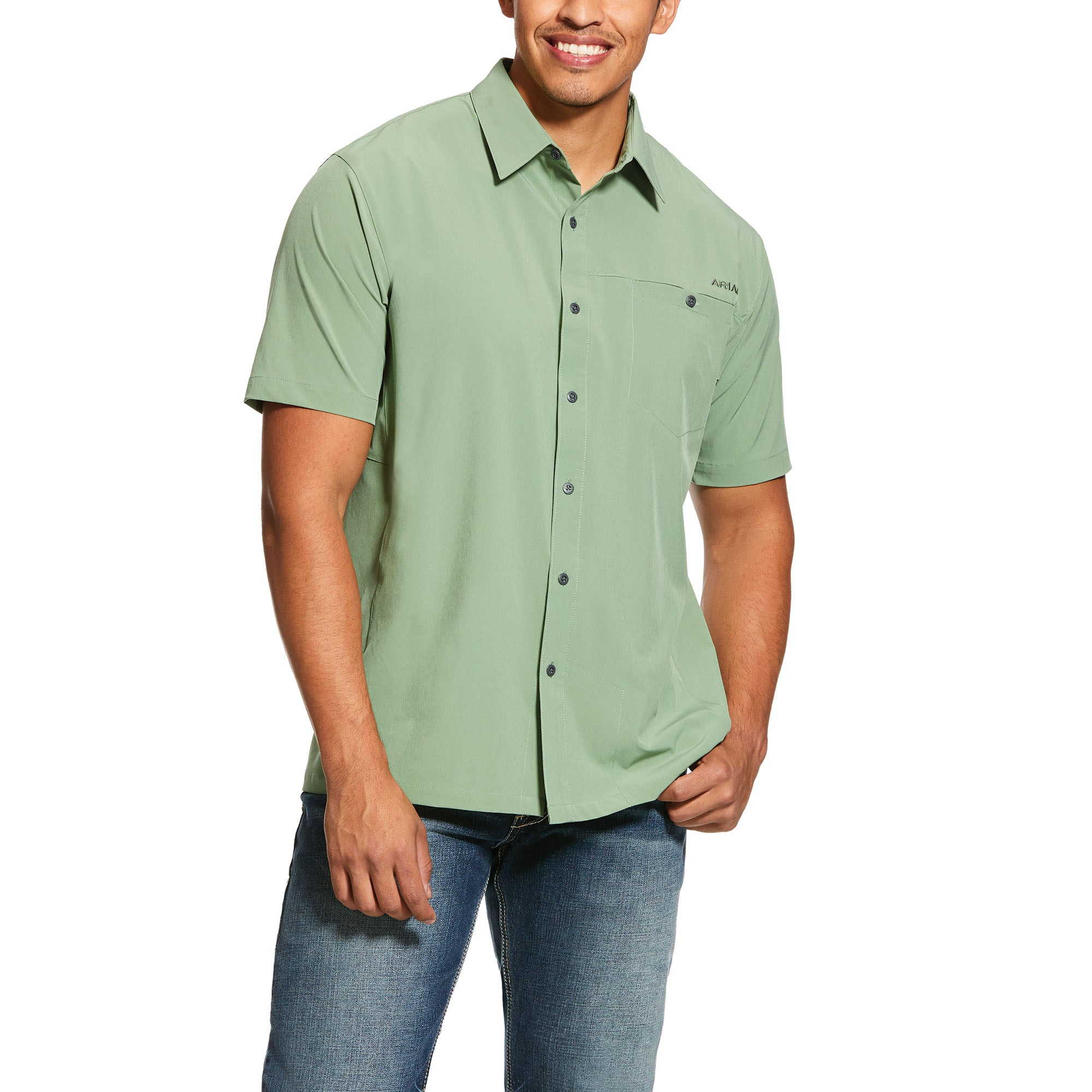 Ariat Men's Solitude Stretch Classic Fit Shirt