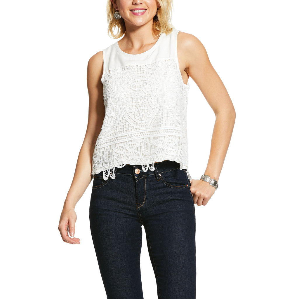 Loretta Sleeveless Shirt