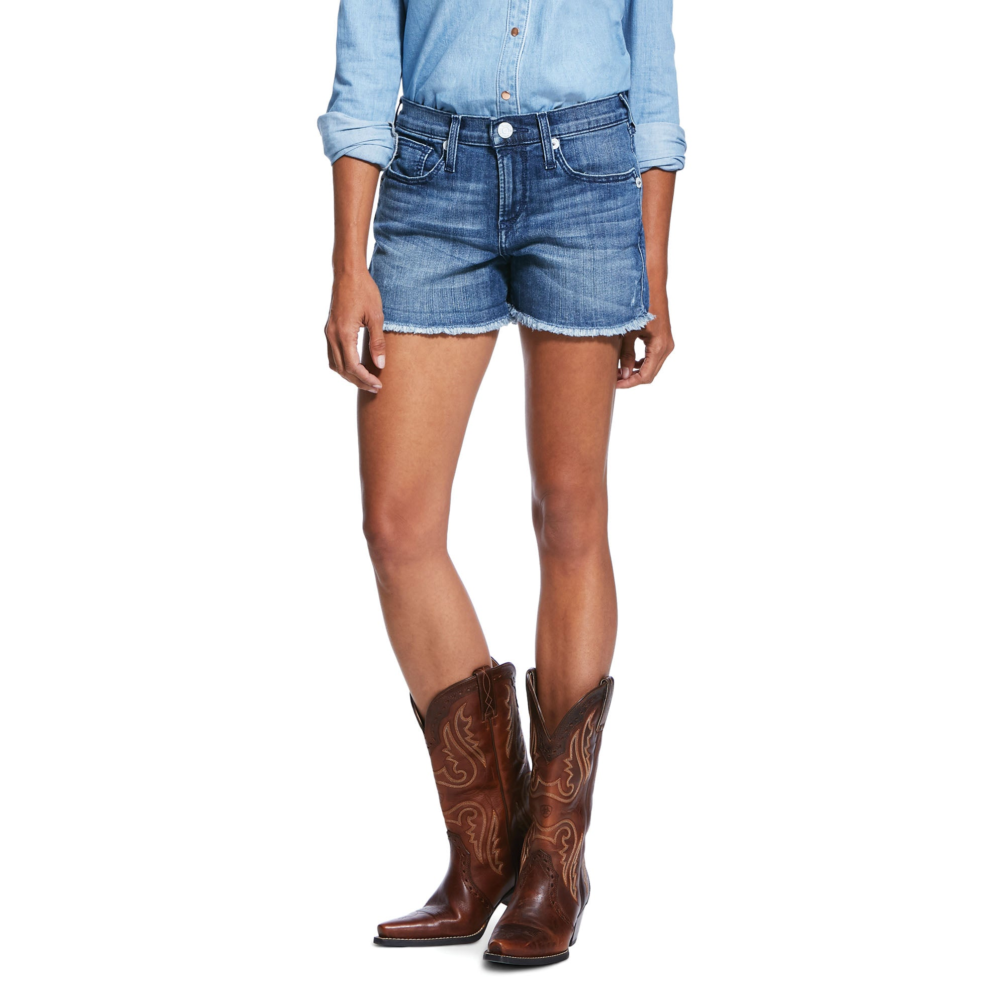 "Ariat Boyfriend Desperado 3"" Short"