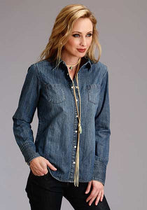 Stetson Women's Denim Shirt