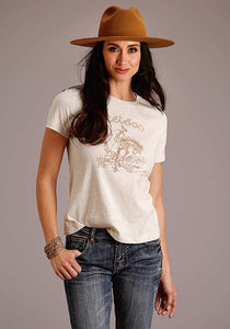 Stetson Cowgirl & Bucking Horse Tee