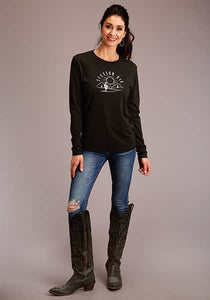 Stetson Cactus Sunset Long Sleeve Tee