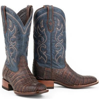 Stetson Honey Caiman Cowboy Boot