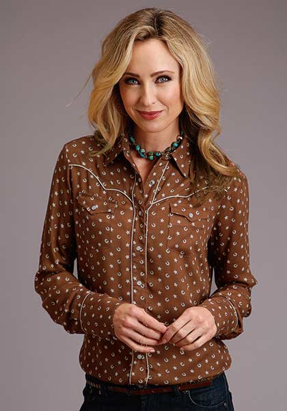Stetson Womens Lucky Star Blouse