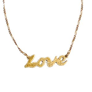 Love Is All There Is Necklace