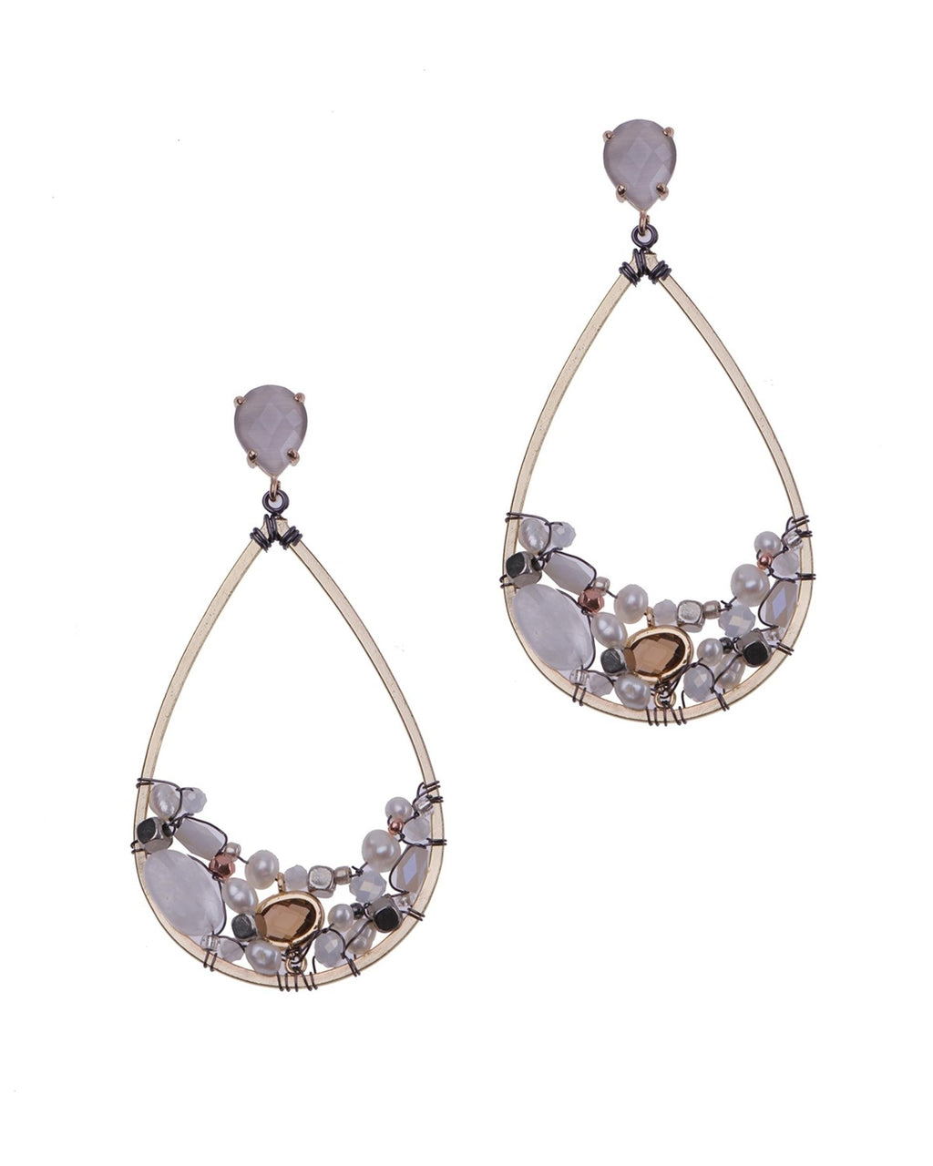 River Pearls Earrings